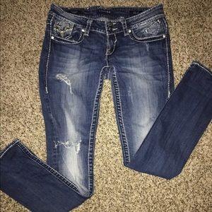 Women's size 5/6 Vigoss straight leg jeans